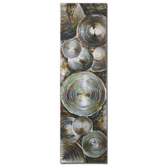 Buy Uttermost Tin Can Alley 70x20 Rectangular Canvas Art on sale online