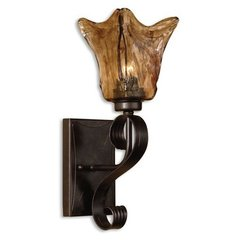 Buy Uttermost Vetraio Wall Sconce in Bronze on sale online