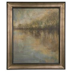 Buy Uttermost Winter Glow 52x45 Framed Art Print on sale online