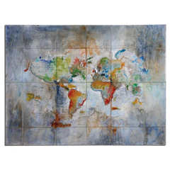 Buy Uttermost World Of Color 48x36 Rectangular Modern Art on sale online