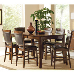 Buy Steve Silver Vancouver 7 Piece 54x44 Counter Height Set on sale online