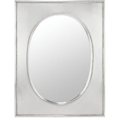 Buy Cooper Classics Venice 31x24 Mirror in Silver Metal on sale online