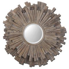 Buy Uttermost Vermundo 14 Inch Round Wall Mirror on sale online