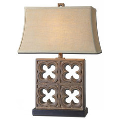 Buy Uttermost Vettore 28 Inch Table Lamp on sale online