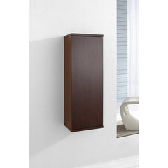 Buy Virtu USA Burrell 14 Inch Vanity Side Linen Cabinet in Walnut on sale online