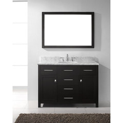 Buy Virtu USA Caroline 48 Inch Single Sink Bathroom Vanity in Espresso on sale online