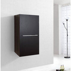 Buy Virtu USA Carvell 16 Inch Vanity Side Linen Cabinet in Espresso on sale online