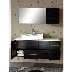 Buy Virtu USA Ceanna 35.4 Inch Single Sink Bathroom Vanity Set on sale online
