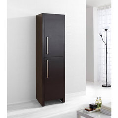 Buy Delano 16 Inch Vanity Side Linen Cabinet in Espresso on sale online