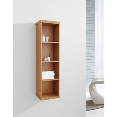 Buy Virtu USA Hewitt 12 Inch Vanity Side Linen Cabinet in Chestnut on sale online