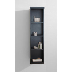 Buy Virtu USA Hewitt 12 Inch Vanity Side Linen Cabinet in Espresso on sale online