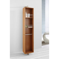 Buy Virtu USA Marcel 14 Inch Vanity Side Linen Cabinet in Chestnut on sale online