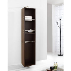 Buy Virtu USA Marcel 14 Inch Vanity Side Linen Cabinet in Walnut on sale online