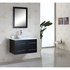 Buy Virtu USA Marsala 35.4 Inch Single Sink Bathroom Vanity Set on sale online