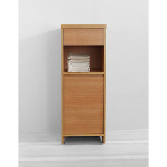 Buy Virtu USA Raynard 16 Inch Vanity Side Linen Cabinet in Chestnut on sale online