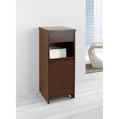 Buy Virtu USA Raynard 16 Inch Vanity Side Linen Cabinet in Walnut on sale online