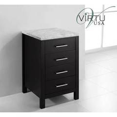 Buy Virtu USA Caroline Parkway 20x20 Side Cabinet in Espresso on sale online