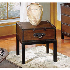 Buy Steve Silver Voyage 24x20 End Table in Antique Cherry on sale online