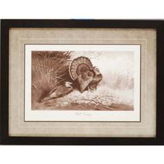Buy Paragon Wild Turkey Framed Wall Art on sale online