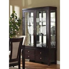 Buy Steve Silver Wilson Buffet w/ Hutch in Espresso on sale online