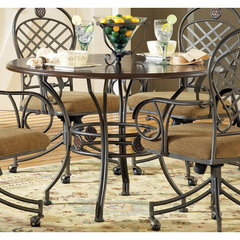 Buy Steve Silver Wimberly 45 Inch Round Dining Table on sale online