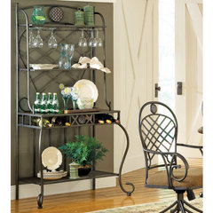 Buy Steve Silver Wimberly Bakers Rack on sale online