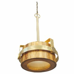 Buy Yosemite Home Decor 1 Light Pendant in Brass Small Size on sale online