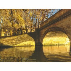Buy Yosemite Home Decor Stone Bridge 47x32 Wall Art on Glass on sale online
