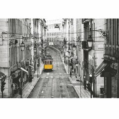 Buy Yosemite Home Decor Trolly Car 47x32 Wall Art on Glass on sale online