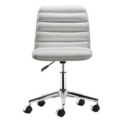Buy Zuo Modern Admire Office Chair w/ Casters in White on sale online