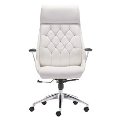 Buy Zuo Modern Boutique Office Chair in White on sale online