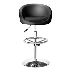 Concerto Adjustable Bar Chair in Black