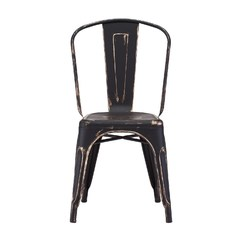 Buy Zuo Modern Elio Dining Chair in Antique Black Gold on sale online