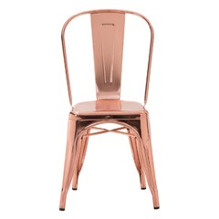 Buy Zuo Modern Elio Modern Armless Dining Chair Rose in Gold on sale online