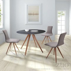 Buy Zuo Modern Grapeland Heights 4 Piece 42 Inch Round Dining Room Set on sale online