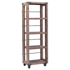 Buy Zuo Modern Kirkwood Shelf w/ Casters in Distressed Natural on sale online