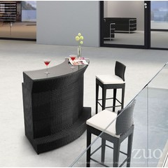 Buy Zuo Modern Negril 37x17 Bar Table in Espresso on sale online