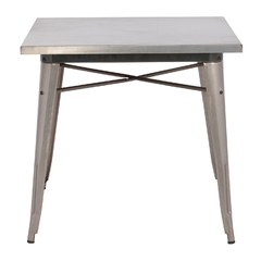 Buy Zuo Modern Olympia 31x31 Square Dining Table in Gunmetal on sale online