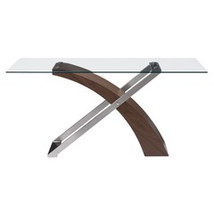 Buy Zuo Modern Outremont 63x35 Dining Table in Walnut on sale online