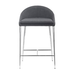 Buy Zuo Modern Reykjavik 24 Inch Counter Chair in Graphite on sale online