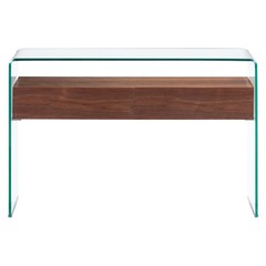 Buy Zuo Modern Shaman 44x14 Rectangular Console Table in Walnut on sale online