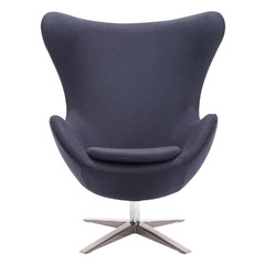 Buy Zuo Modern Skien Occasional Chair in Iron Gray on sale online