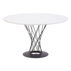 Buy Zuo Modern Spiral 47x47 Square Dining Table in White on sale online