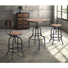 Buy Zuo Modern Twin Peaks 4 Piece 25 Inch Round Counter Table Set on sale online