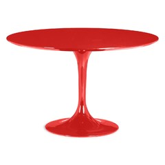 Buy Zuo Modern Wilco 47x47 Round Dining Table in Red on sale online